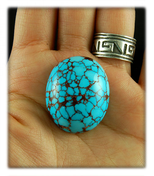 Top gem grade Spiderweb Persian Turquoise