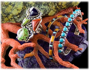 Multi Color Turquoise Jewelry