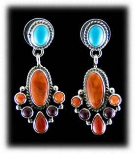 Fashion Turquoise Jewelry - Sleeping Beauty Turquoise Earrings