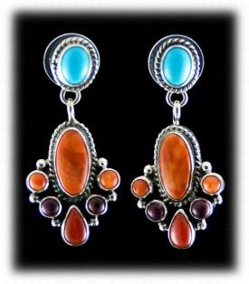 Fashion Turquoise Jewelry - Sleeping Beauty Turquoise Earrings