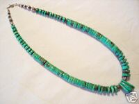 Santa Domingo Necklace turquoise beads