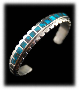 America's Finest - Bisbee Turquoise Bracelet