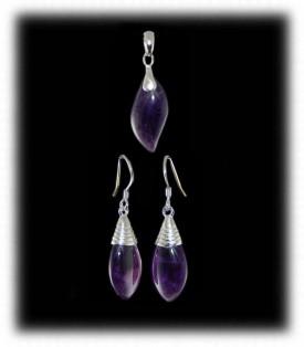 Gemstone Bead Earrings by Nattarika