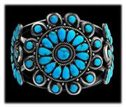 Antique Turquoise Jewelry Bracelet