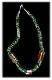 antique turquoise jewelry by the Santo Domingo