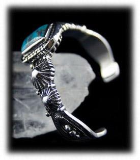 Antique Navajo Men's Turquoise Bracelets