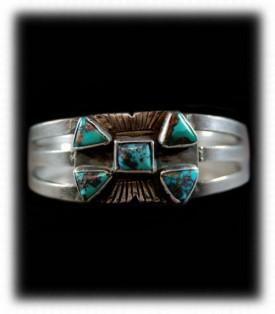 western silver navajo bracelets