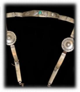 Navajo Silver Bridle - Navajo Jewelry