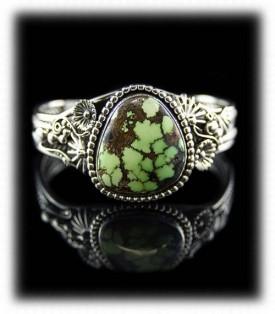Authentic Green Turquoise Bracelet
