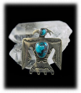 Authentic Old Turquoise Pin