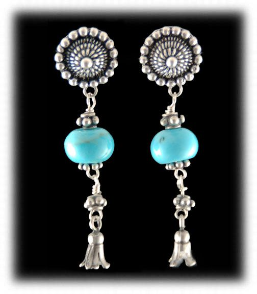Bargain Barn Bead Earrings
