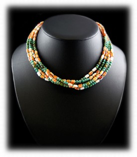 Mulit Strand Bead Necklace