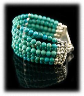 Turquoise Bead Bracelets