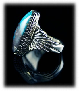 Bisbee Turquoise Men's Ring