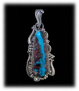 Bisbee Boulder Turquoise Necklaces - A Durango Silver Exclusive