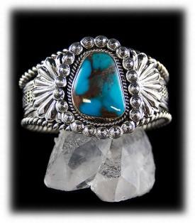 Bisbee Turquoise Cuff Bracelet