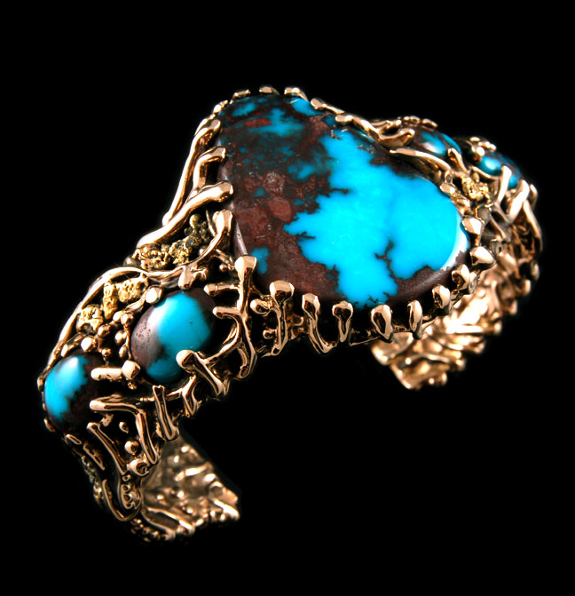 Quality Gold Turquoise Jewelry