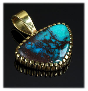 Indian Turquoise Jewelry featuring Bisbee Turquoise