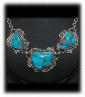 Bisbee Turquoise Necklace by John Hartman