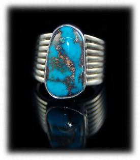 Bisbee Turquoise Ring - Bisbee Turquoise Jewelry