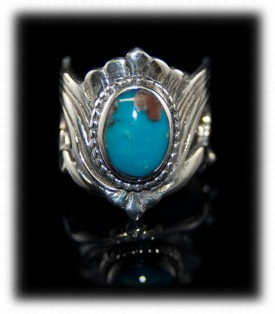 Rare Turquoise Silver Rings and Bands