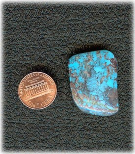 Large Authentic Bisbee Turquoise Cabochon