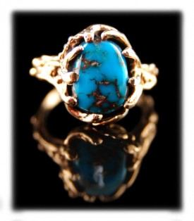Bisbee Blue Turquoise Ring