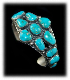 Blue Fox Turquoise Cabochons