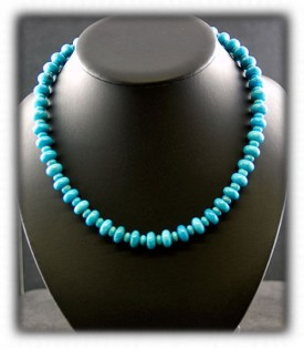 Blue Gem Turquoise Beads