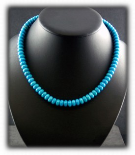Blue Turquoise Beads