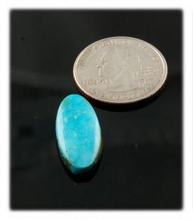 blue turquoise cabochon Sleeping Beauty