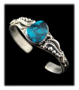 Blue Diamond Turquoise Bracelet