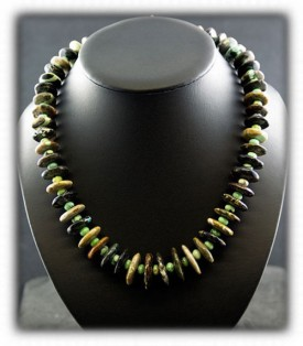 Brown Turquoise Beads