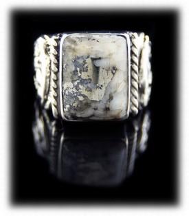 Silver Buffalo Ring