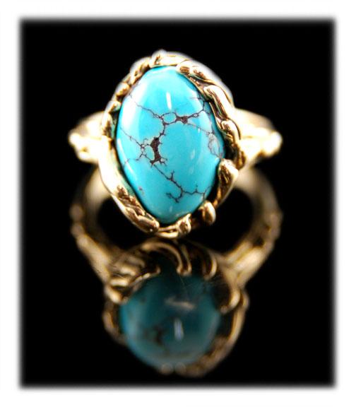 Burnham Blue Spiderweb Turquoise