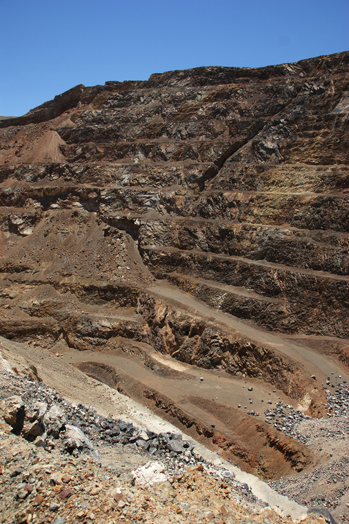 Candelaria Mine Pit