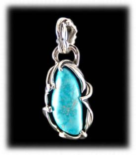 Candelaria Turquoise Pendant