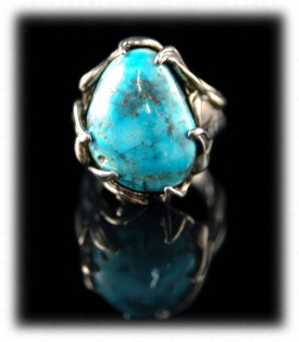 Candelaria Turquoise in a ring