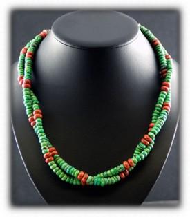Carico Lake Turquoise Beads