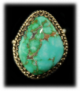 Carico Lake Turquoise Ring by John Hartman