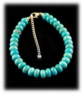 Chakra Turquoise beaded bracelet