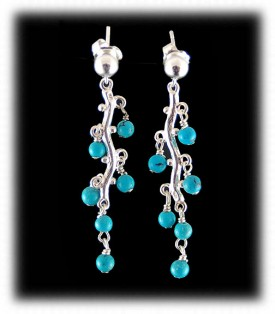 Beaded Chandelier Earrings
