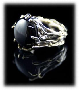Crystal Hartman Victorian Silver Ring