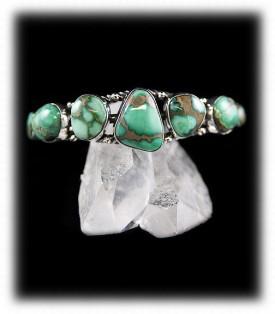 Damale Turquoise Cuff Bracelet