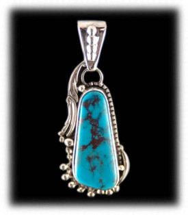 Bisbee Blue Turquoise Necklace