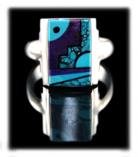 Native American Indian Rings by Edison Yazzi