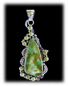 Fashion Green Turquoise Pendant