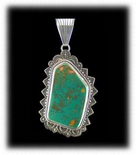 Navajo Manassa Turquoise Necklace