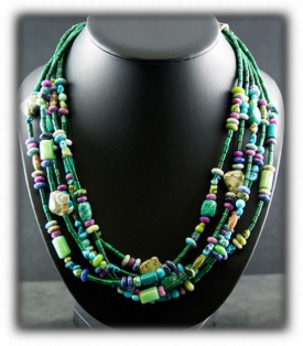 Gemstone Treasure Necklace - Gemstone Jewelry