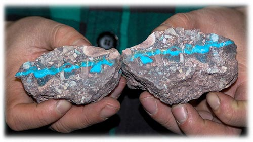 Genuine Turquoise from Bisbee Arizona
